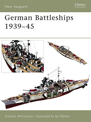 German Battleships 1939–45 (New Vanguard)