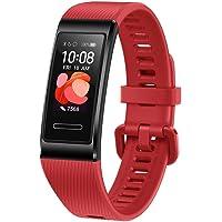 """HUAWEI Band 4 Pro – Smart Band Fitness Tracker con Touchscreen AMOLED 0.95"""", Monitoraggio del Battito Cardiaco, Monitoraggio Scientifico del Sonno, GPS Integrato, Resistente all'Acqua"""