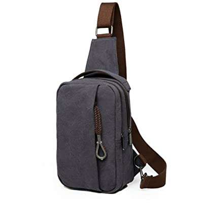 Casual Chest Bag for man Hiking Gym Travel Cross Body Sack Satchel For School