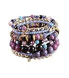 Black Friday Deals 1 Set Boho Wholesale Multilayer Acrylic Beads Beach Bracelet Bohemia Bracelet