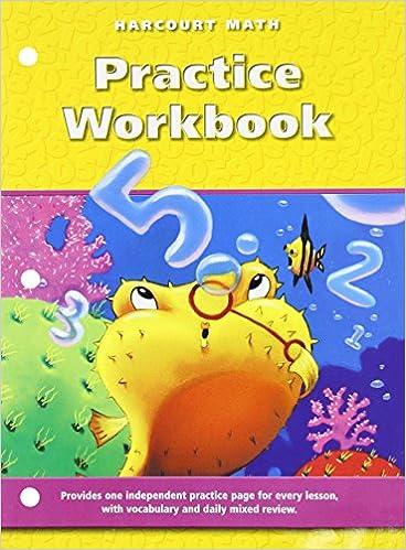 Harcourt Math, Grade 2: Practice Workbook: HARCOURT SCHOOL ...