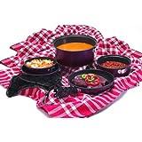 Texsport Kangaroo 7 pc Camping Cookware Outdoor Cook Set with Storage Bag