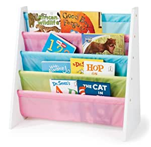 Tot Tutors Kids' Book Rack, Pastel