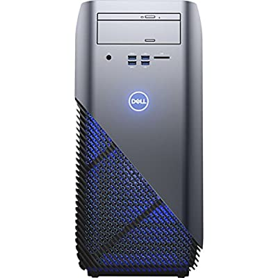 Dell Inspiron 5675 AMD Desktop, Ryzen Processor, 8GB, 1TB, AMD Radeon Graphics, Recon Blue (Certified Refurbished)