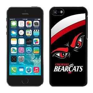 DIY,Personalized iPhone 5C Case Design with Cincinnati Bearcats 3 in Black