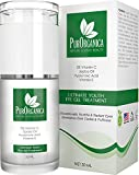 PurOrganica EYE CREAM for Wrinkles, Eye Bags, Dark Circles, Puffiness and Crow's Feet - DOUBLE SIZED 30ML - Organic Anti Ageing Cream with Vitamin C, Hyaluronic Acid, Jojoba Oil and Vitamin E - Best Natural Treatment for Women and Men - 100% Satisfaction or Your Money Back Guarantee Bild 4