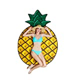Make every location a tropical one with our gigantic pineapple beach blanket! This truly gigantic, fun beach blanket measures 5' wide and has a fun pineapple design. It's ultra-soft and creates a more effective, softer, comfortable barrier between yo...