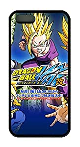 TPU Black Color Soft Case For iPhone 5S Latest style Case Suit iPhone5/5S Very Nice And Ultra-thin Case Easy To Use Dragon Ball Z 108