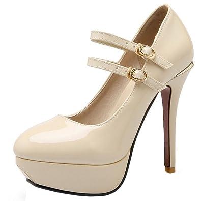 Zanpa Women Classic Shoes Plateau Heels