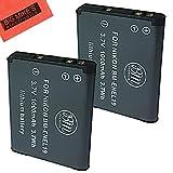 BM Premium (2 Pack) Of 2 EN-EL19, ENEL19 Battery For Nikon Coolpix S32, S33, S100, S3100, S3200, S3300, S3500, S3600, S3700, S4100, S4200, S4300, S5200, S5300, S6400, S6500, S6800, S6900, S7000 Digital Camera