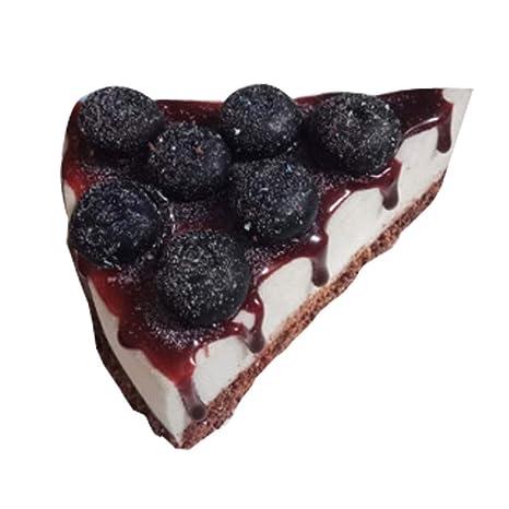 Blancho Bedding 2 Piezas de tortas de simulación tortas de Frutas triángulo postres de Frutas Modelo