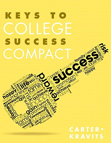 Keys to College Success Compact Plus NEW MyStudentSuccessLab with Pearson eText -- Access Card Package (Key Series Audience-specific)