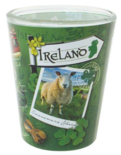 Destination Ireland Range Shot Glass With Famous Irish Landmarks Images