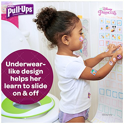 Large Product Image of Pull-Ups Night-Time, 3T-4T (32-40 lb.), 44 Ct. (Pack of 2), Potty Training Pants for Girls, Disposable Potty Training Pants for Toddler Girls (Packaging May Vary)