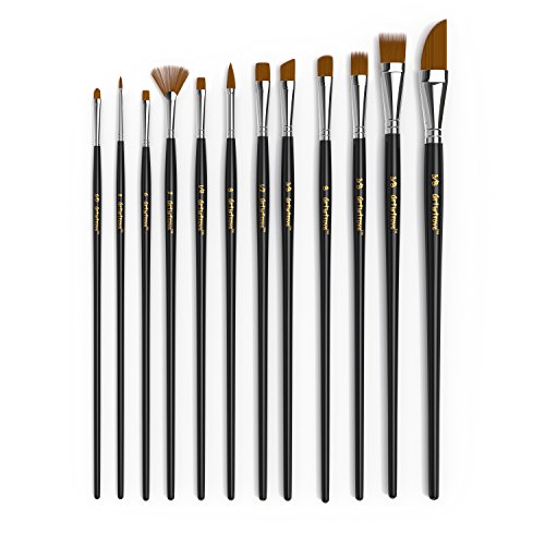 paint-brush-set-of-12-premium-nylon-brushes-for-watercolor-acrylic-oil-painting-perfect-for-painting