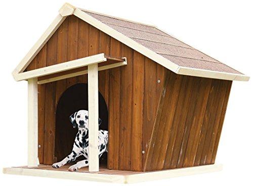 ACME 98204 Rylee Pet House, Cream & Oak