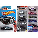 Hot Wheels Police Pursuit 2016 5 pack + NYPD Matchbox Police Rescue 5-Pack  amp;  #39;10 Camaro SS #