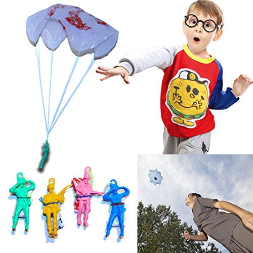 36 Pack Impressive Vinyl Paratroopers Assortment | Bulk (3 Dozen) | Makes a Statement! Ideal for Parties and Outings...