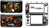 #9: Super Smash Bros Melee Brawl Zero Suit Samus Metroid Varia Suit Video Game Vinyl Decal Skin Sticker Cover for the New Nintendo 3DS XL LL 2015 System Console