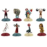 Club Pack of 12 Vintage Circus Mini Centerpieces Table Top Decorations 60''