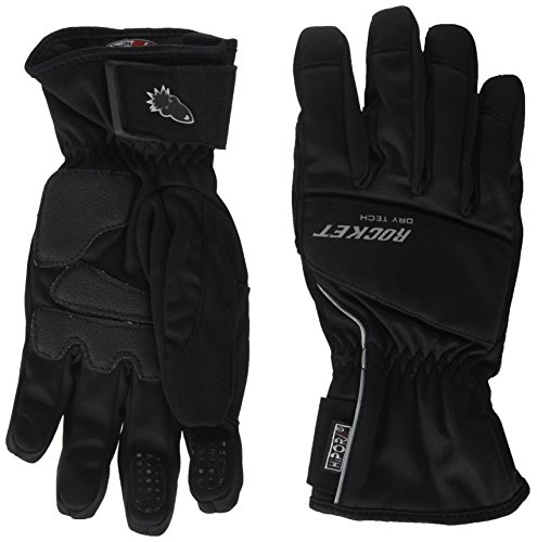 Joe Rocket Ballistic 7.0 Men's Cold Weather Motorcycle Riding Gloves (Black, Medium)