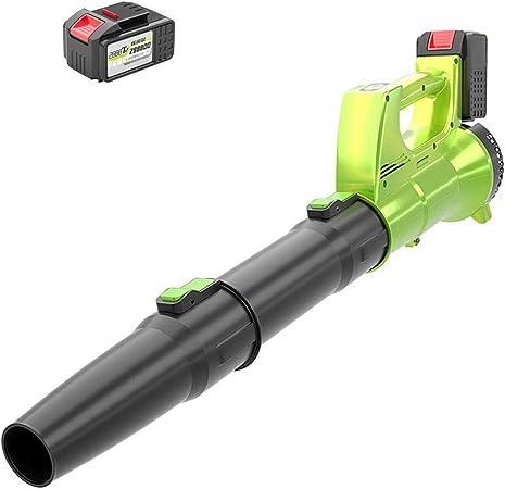 GXYNB Soplador de Hojas inalámbrico, 40 V 150 mph Soplador de Hojas inalámbrico de Velocidad Variable, batería de 2.0 Ah y Cargador incluidos para Limpiar Polvo, Hojas y Nieve (Size : A): Amazon.es: Hogar