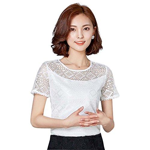 Hollow Chiffon Summer Blouse Shirts product image