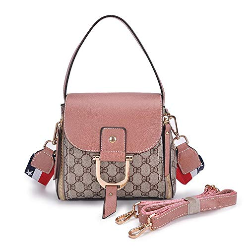 Fashion Shoulder Messenger PU Ladies Bag Handbag Strap Small Wide C Shoulder Lady Single Bag Side Hongge Bag wdU1gw
