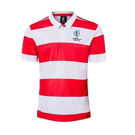Camiseta De Rugby, Hogar Japonés De La Copa Mundial 2019, Ropa De ...