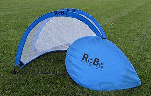 Robo 4 Footer Portable Training Soccer Goal Boxed Set