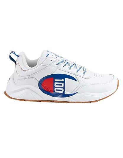 7b7437f5c226b Champion Boy's 93Eighteen Big C Leather Sneaker