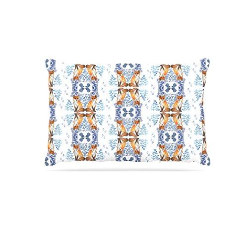 KESS InHouse Dlkg Design Ana  Black Olive Dog Bed, 30  x 40