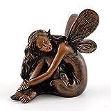 Top Collection Miniature Garden & Terrarium Fairy Napping Statue, Small
