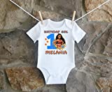 Moana Birthday Shirt,Moana Birthday Shirt For Girls, Personalized Girls Moana Birthday Shirt, Customized Moana Birthday Shirt