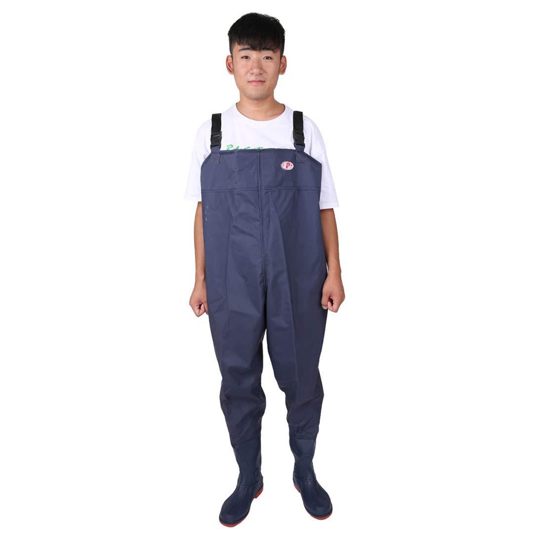 LBWNB Wader Pants-Fishing Waders Wading Hosen Chest Work Waterproof Adult Pants O ll Stiefel für Landwirtschaft, Angeln, Tiefenbau, Außenaufnahmen