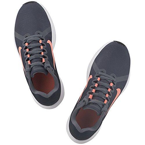 Nike Womens Downshifter 8 Scarpa Da Corsa Light Carbon / Crimson Pulse-thunder Blu