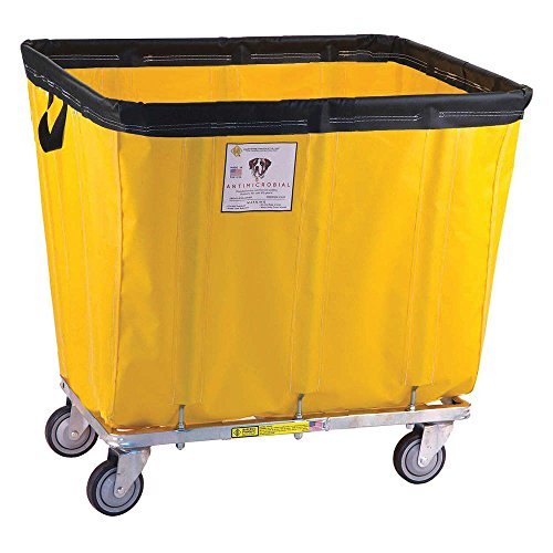 Yel Truck (R&B Wire Products - 408SOC/ANTI/YEL - Basket Truck, 8.0 Bushel Capacity, 23-1/2 Overall Width, 35 Overall Length)
