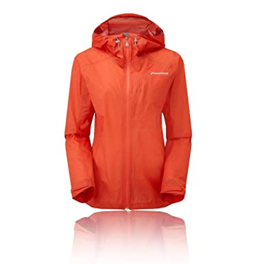 Montane Minimus Women s Waterproof Outdoor Jacket Orange  Amazon.co ... ec8c81197b