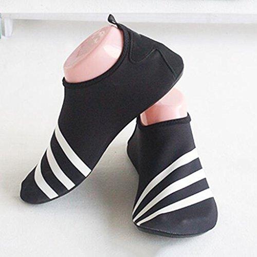 Zapatos De Natación Azul / Verde / Rojo / Blanco / Amarillo Suela De Goma Antideslizante + Parte Superior Elástica Amantes Calzado Deportivo De Playa Zapatos Suaves Descalzos Zapatos De Cala Zapatos D Blanco