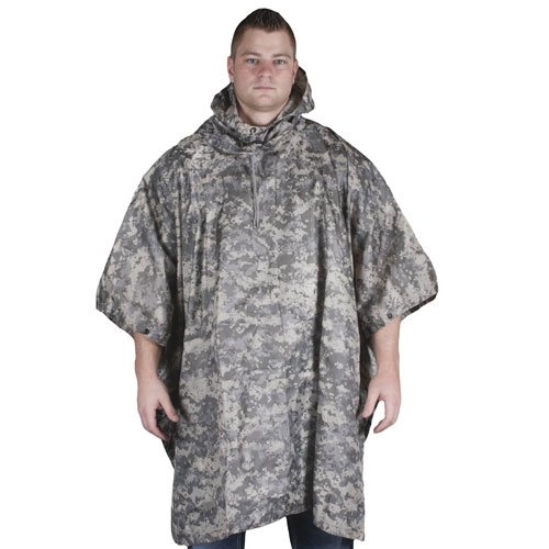 Free Fox Outdoor Products Ripstop Poncho, Terrain Digital