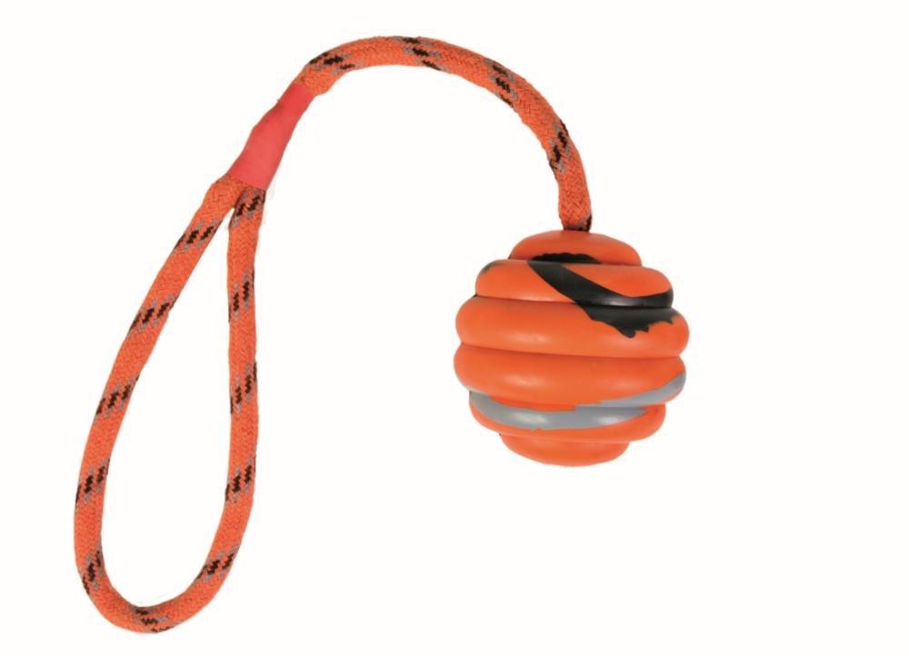 Trixie 1571260031 - Pelota con Cuerda Pesada,Caucho Natural,㸠6cm ...