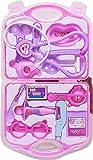 BabyGo Kids 14-Piece Doctor Nurse Set Family Medical Suitcase Toy