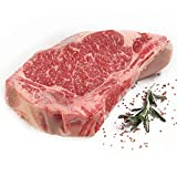 New York Prime Beef - NY Strip Bone In - 4 x 20 Oz. Steaks - CARVED FROM A WHOLE DRY AGED SHORT LOIN - THE BEST STEAK ON THE PLANET via Fed Ex overnight