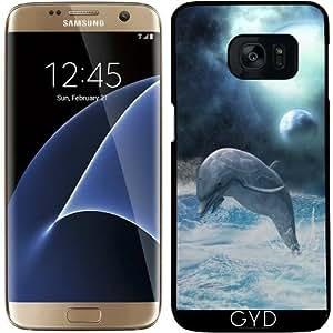 Funda para Samsung Galaxy S7 Edge - La Libertad De Los Delfines by Gatterwe