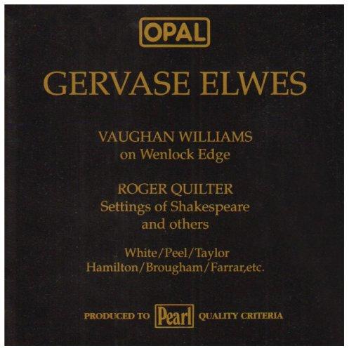 Vaughan Williams On Wenlock Edge W.F.B.Kiddle Piano & London String Quartet / The Roadside F