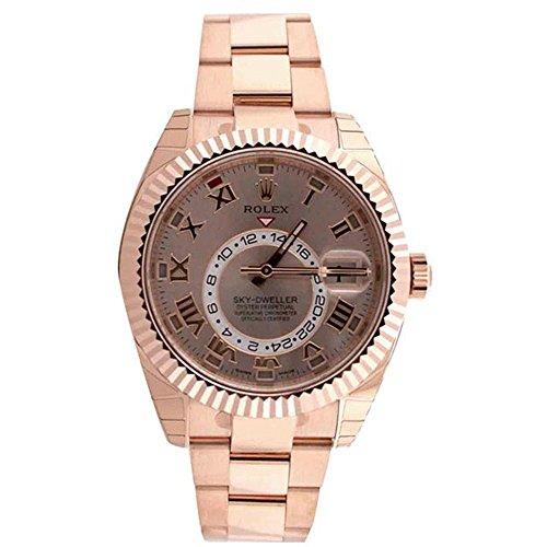 Rolex Sky Dweller Sundust Dial Rose Gold Men's Watch 326935