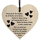 Theshy Merry 1pc 'Thanksgiving Mum ' Thank You Wood Heart Plaque Sign Friendship Decoration Decorative Pendant Holiday Decor Outdoor Indoor