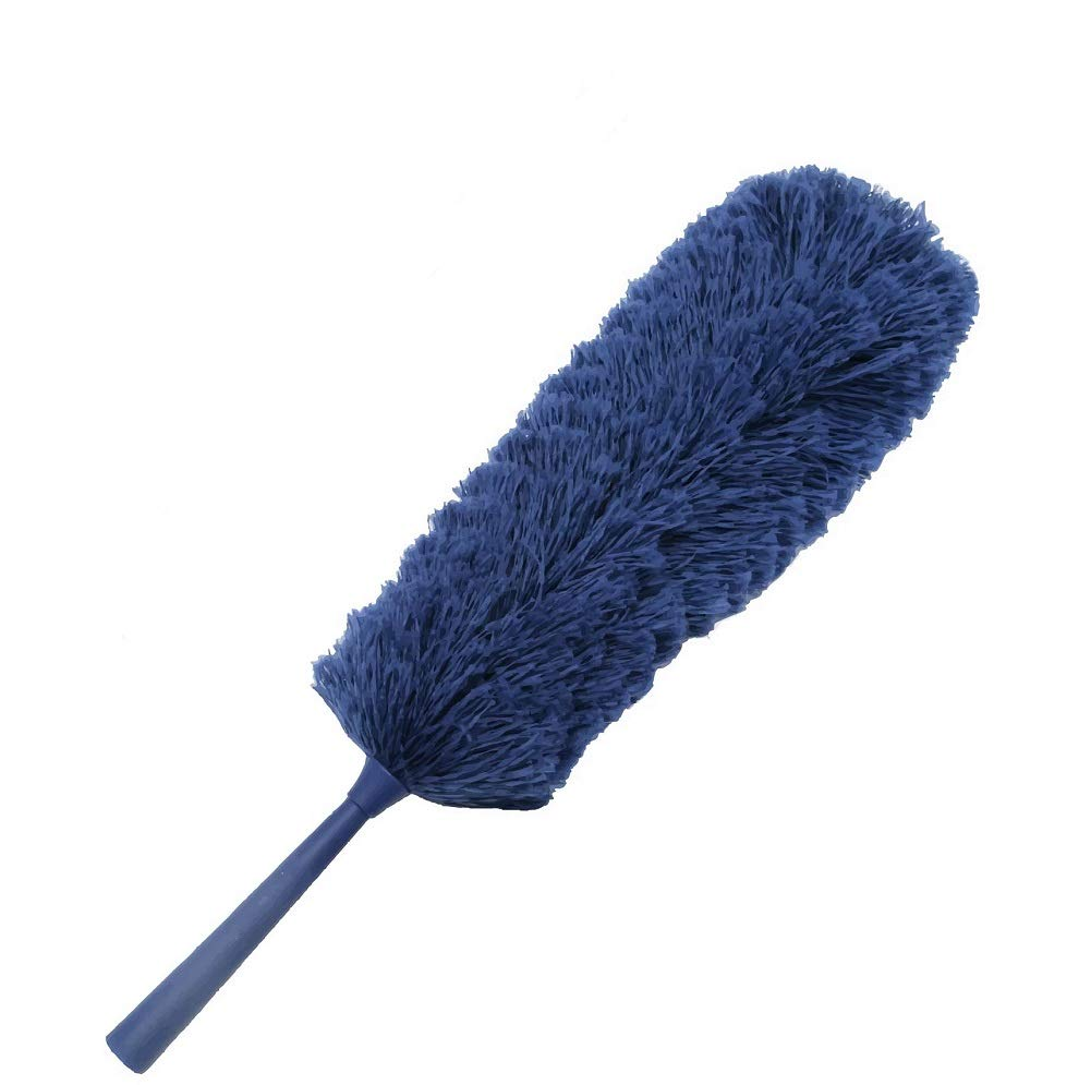 U.S Duster Co. Microfiber Feather Duster: Extendable with Your Extension Pole for Cobweb, High Ceiling Fan - Flexible Cleaning of Blind, Buy ONE GET ONE Free- Reusable, Washable, No Refills