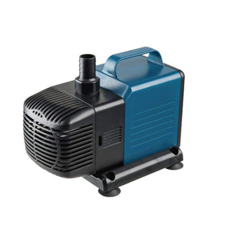 LIFUREN Fish Tank Oxygen Pump Large Flow Mini Mini Mute Submersible Pump Cycle Filter Pump Amphibious (Color : Blue, Size : 60W)