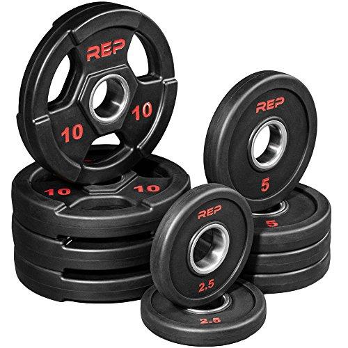 ympic Plates - 65 lb Set ()